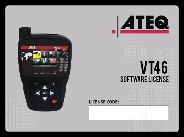 VT46 Yazılım Lisansı