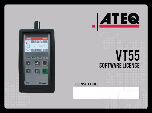 VT55 Yazılım lisansı