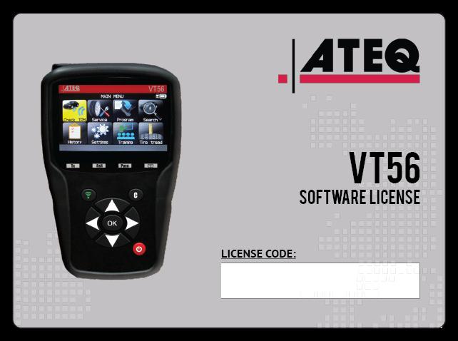 VT56 Yazılım Lisansı